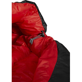 Y by Nordisk V.I.B 250 Sleeping Bag L, negro/rojo